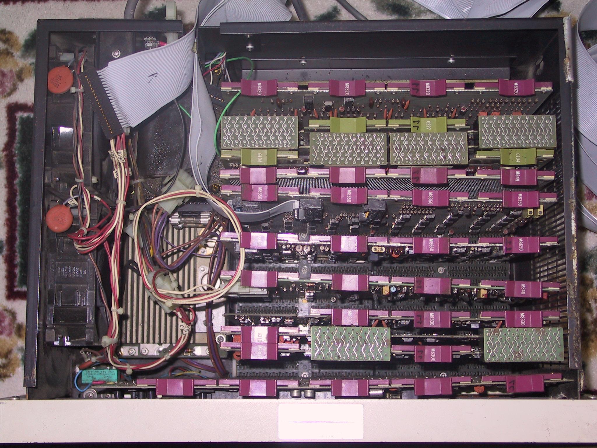PDP-8m Internal View