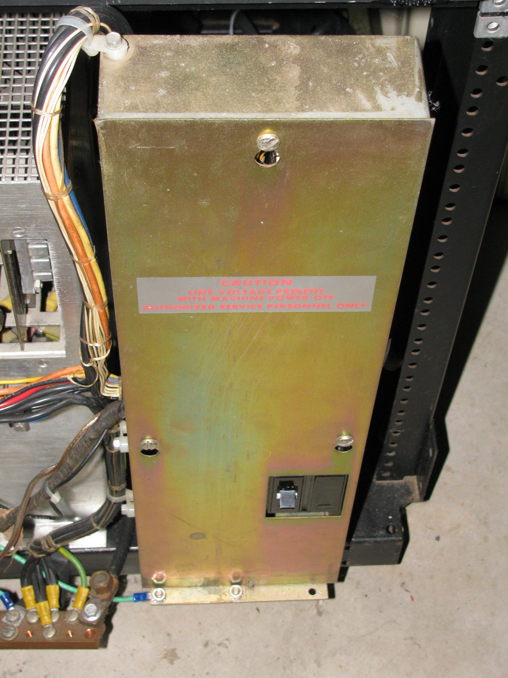 HP2780A Disk Drive Power Sequencer