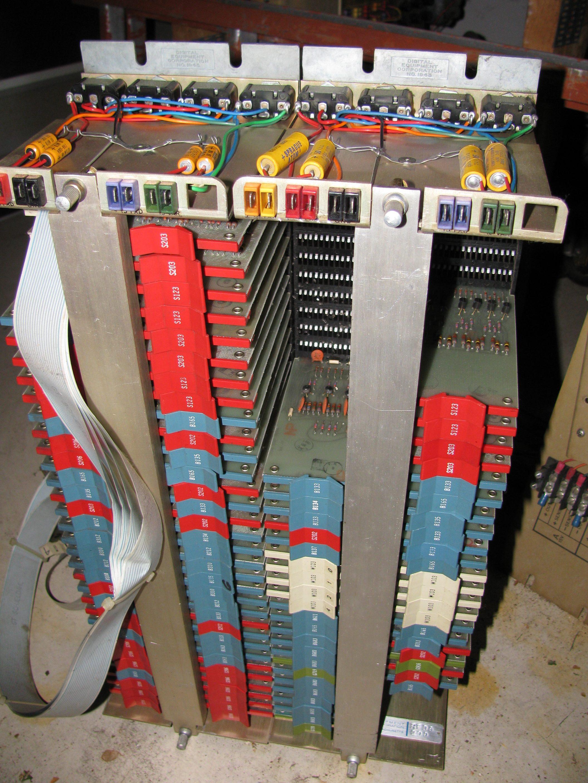 DEC RF08 Controller Card View