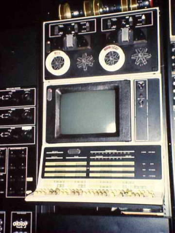 PDP-12 Console, VR14 Display and TU56 DECTape