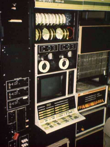 PDP-12 Rack with PDP-8/L