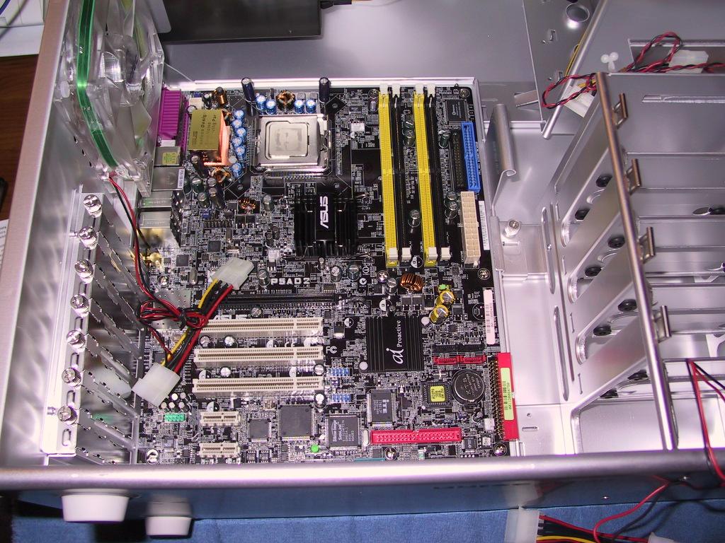 Intel Pentium 4 PC Inside