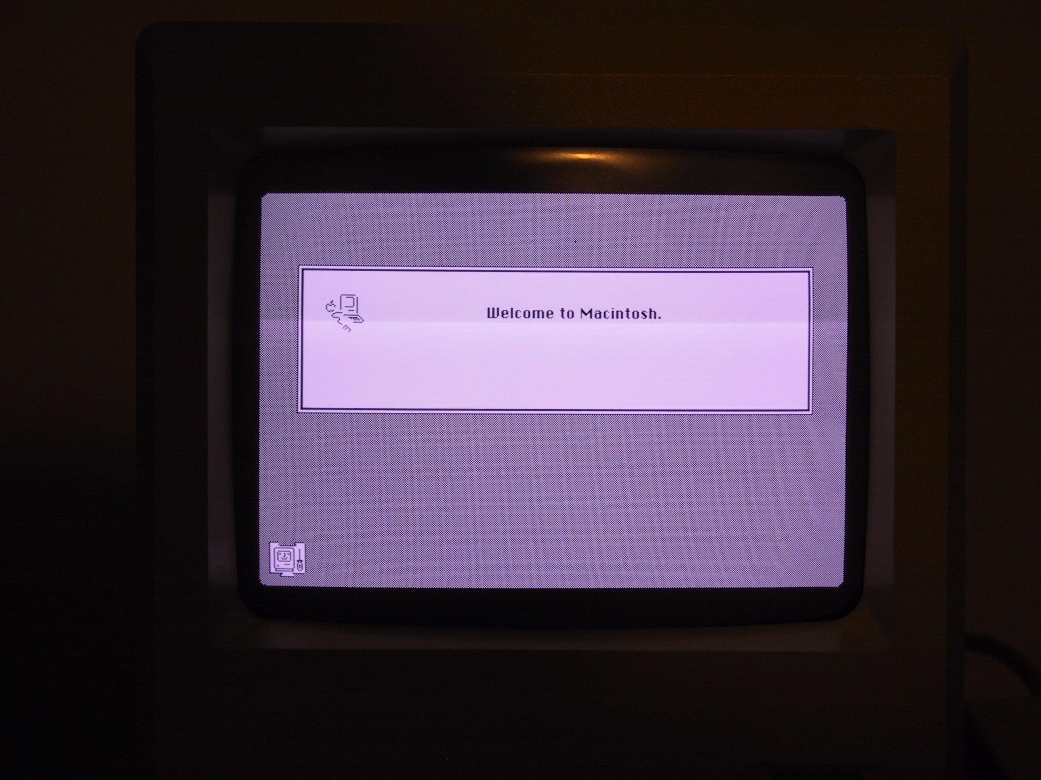 Mac Plus Startup