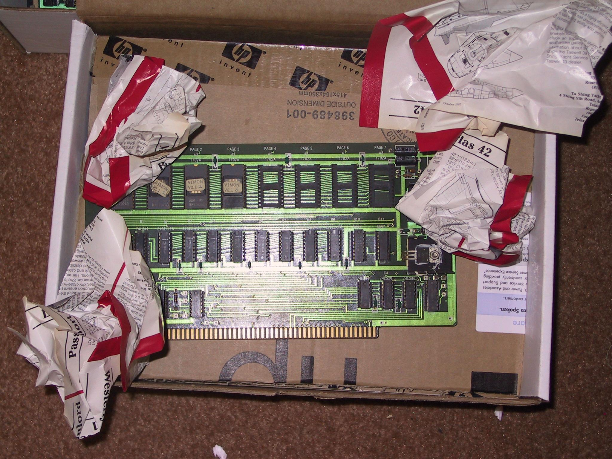 S100 ROM Board