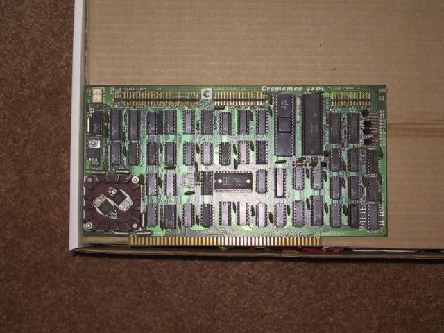 Cromemco 4FDC Floppy Controller for IMSAI 8080