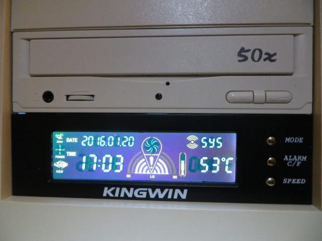 Intel Pentium II Temperature Monitor