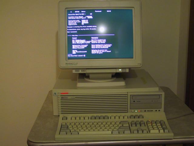 HP 9000 Model C100 Workstation