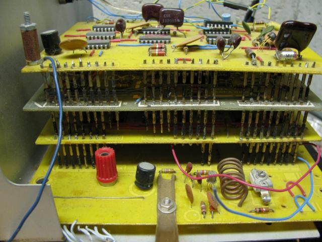 TV Typewriter Before Restoration Showing Connector Pins