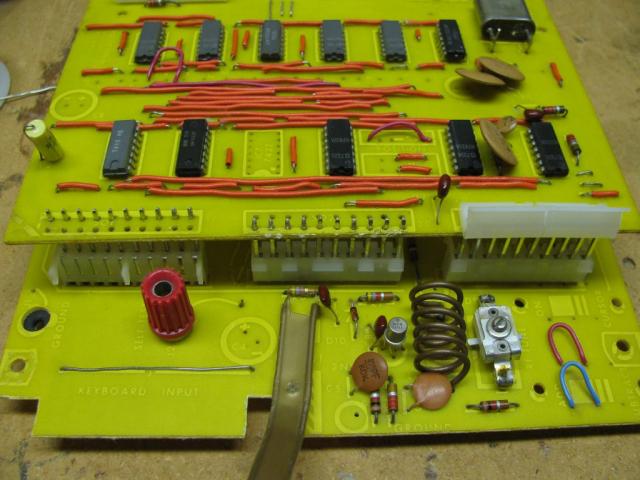 TV Typewriter Motherboard During Restoration