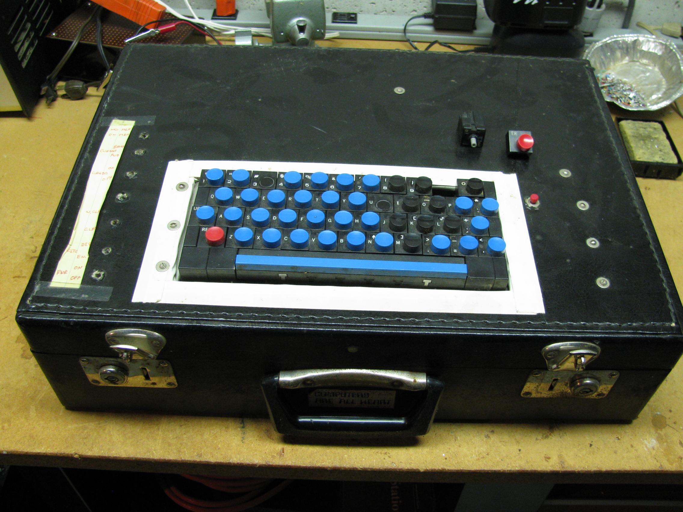 TV Typewriter Keyboard