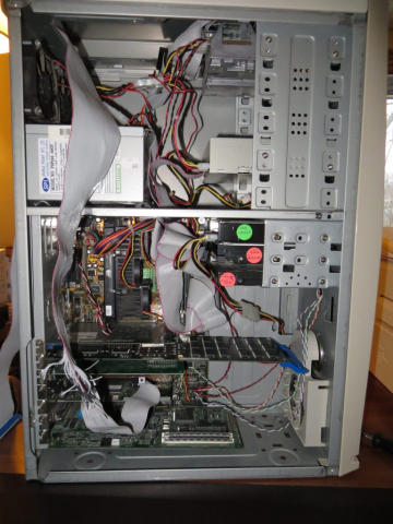 IBM P/390E Card Installed in Pentium II PC