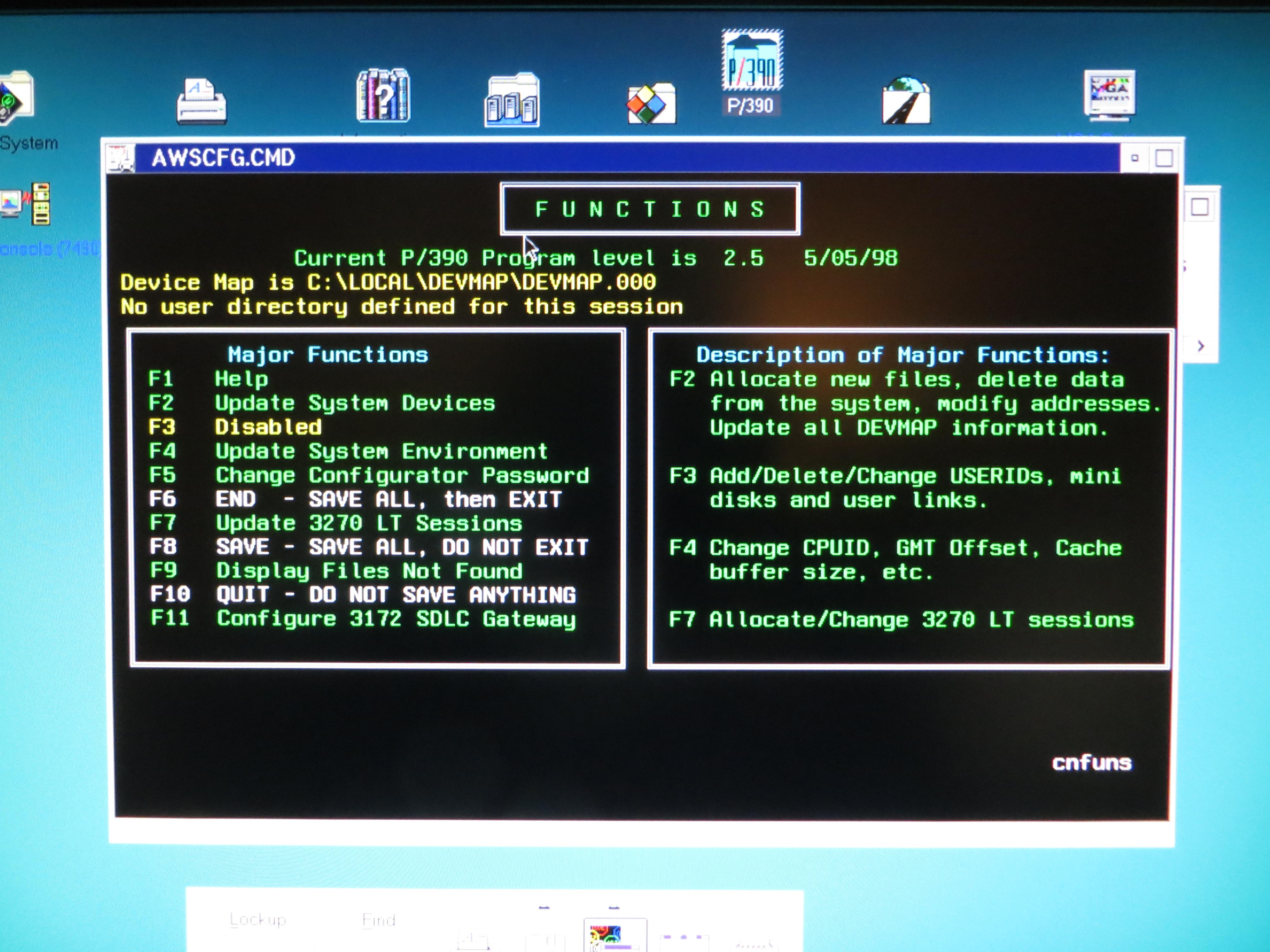 IBM P390 Configurator
