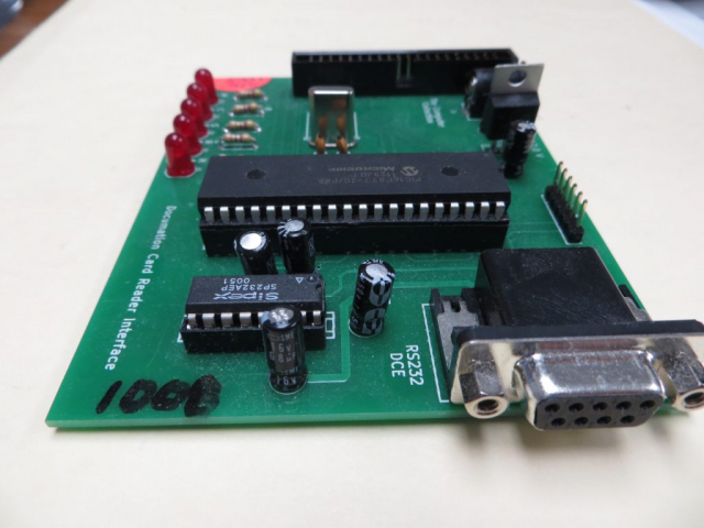 Documation Card Reader Interface RS232 Connection