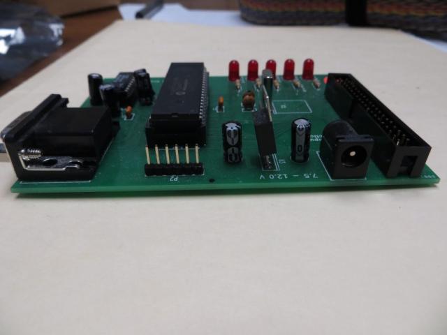 Documation Card Reader Interface ICSP Header