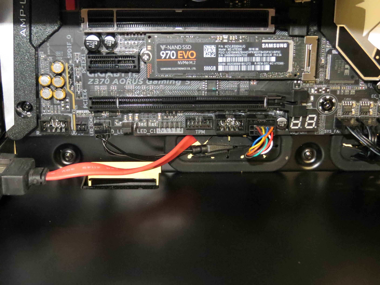 Intel i7-8700K PC 512GB M.2 SSD