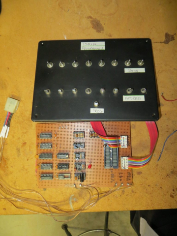 1702A EPROM Programmer Innards