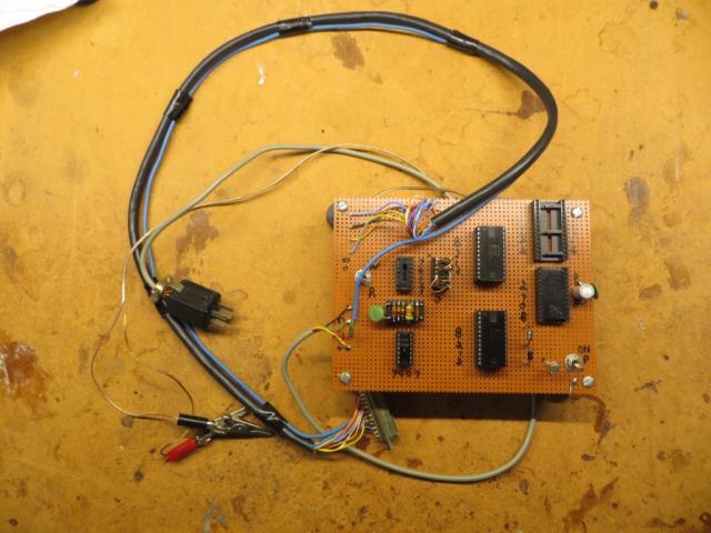 2708/2716/2732/2764 EPROM Programmer