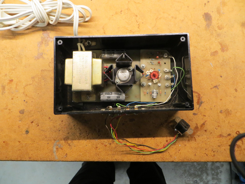 2708/2716/2732/2764 EPROM Programmer Power Supply
