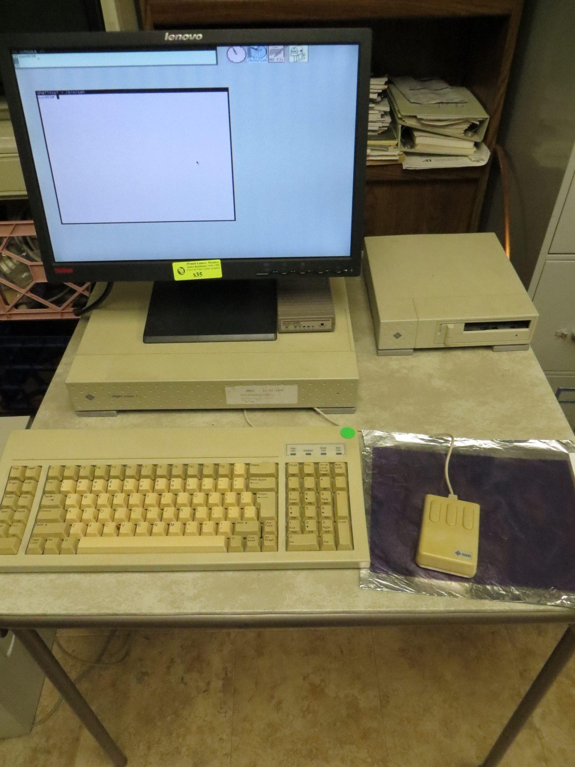 Sun Sparcstation 1 aka Sun 4/60 Workstation